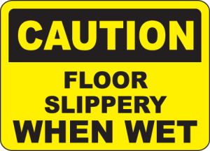 slippery-floor